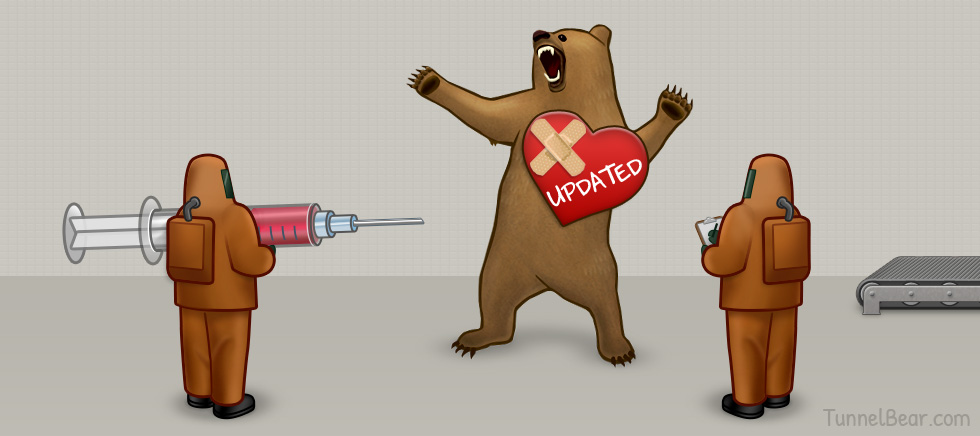 Heartbleed: Double-Check Your TunnelBear for Latest Version!