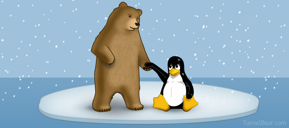 TunnelBear Befriends Penguins  with Limited Linux Support