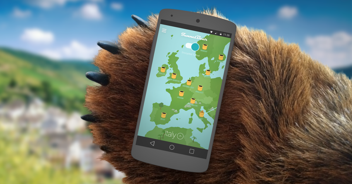 TunnelBear on Android Nougat Getting Sweet New Features