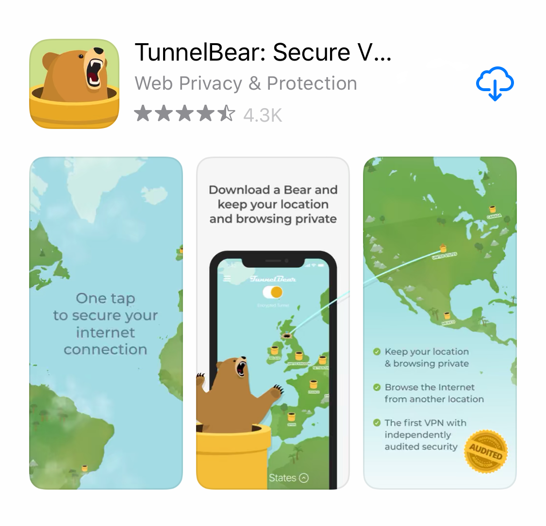 Download-TunnelBear