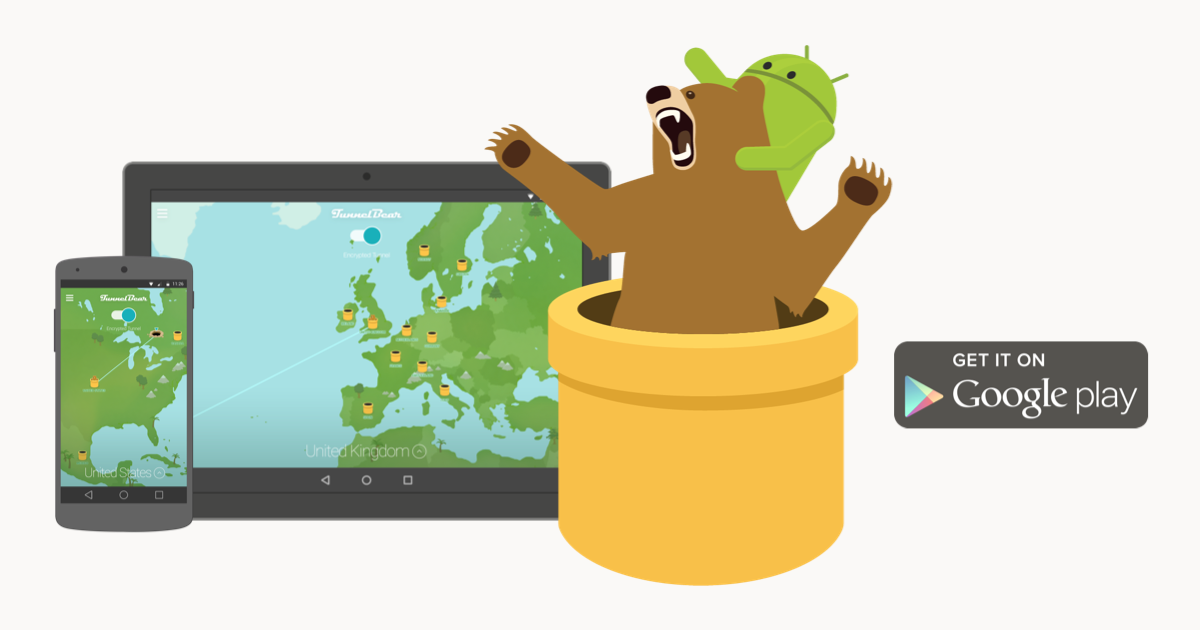 tunnelbear pour android
