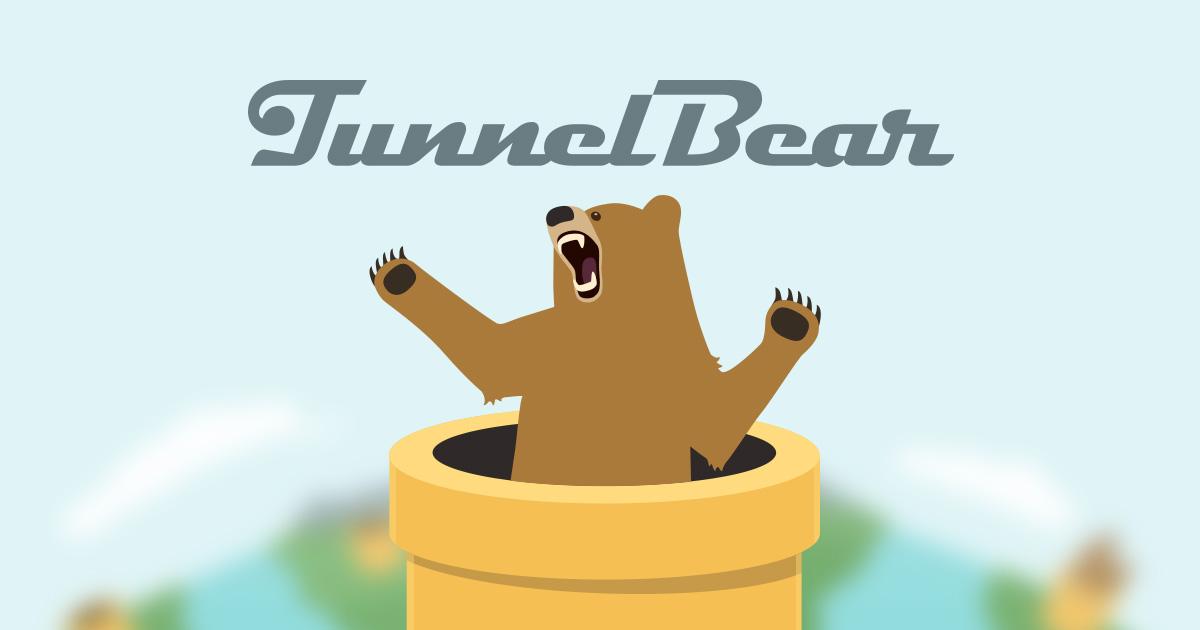 TunnelBear- Best VPNs For Pc